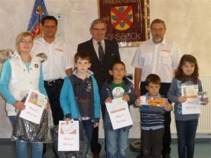 Preisverleihung Luftballonwettbewerb